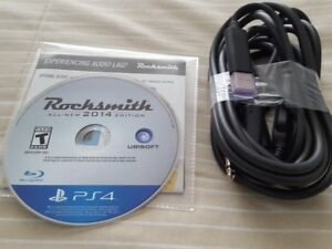 PS4 ROCKSMITH REMASTERED 2014 EDITION PLAYSTATION 4 VIDEO GAME