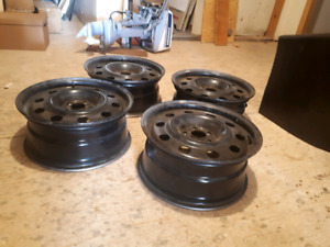 17x7 Ford Steel wheels