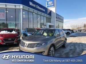 2016 Lincoln MKX Reserve  -MKX RESERVE-LOW KMS-SELF PARKING-ONE