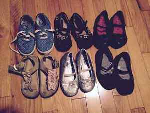 Assorted girls shoes size 9
