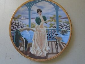 9 Inch Avon  Miss Albee Collectibles Plate