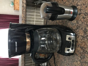 12 cup coffee maker and grinder