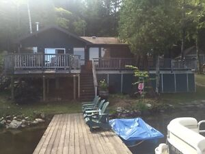 Cottage Rental on Weslemkoon Lake near Bancroft