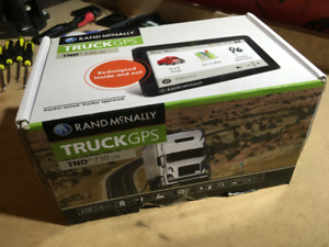"""Rand Mcnally IntelliRoute TND™ 730 LM 7"""" Truck GPS - Once Used"""