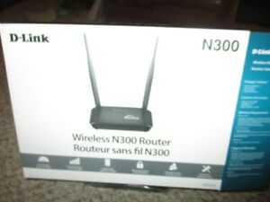 D-link Wireless router N300