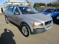 2004 Volvo XC90 SUV 2.9 T6 SE Geartronic Auto4 Petrol green Automatic