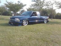 1998 Chevrolet S-10 Pickup Truck Air ride as well