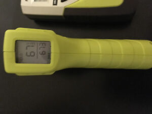 Ryobi infared thermometer and moisture meter $50 firm
