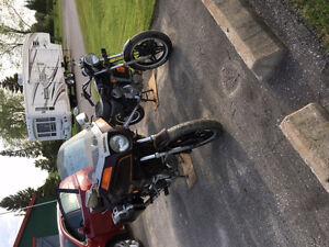 1981 Honda Silverwing and 1982 Honda 500