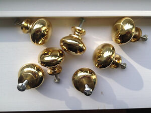 65 Gold Cabinet Knobs