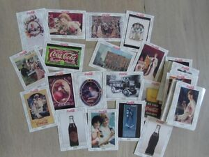 1993-COCA-COLA-Series 1 Complete 100 Glossy Card Set.