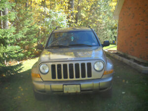 2005 JEEP LIBERTY RENEGADE FOR SALE AS IS, 272,200 KM