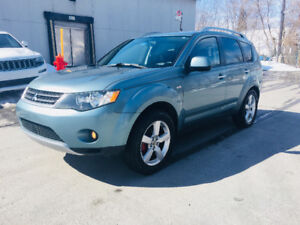 2007 Mitsubishi Outlander XLS Cuir Toit ouvrant mags