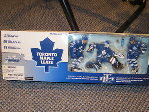 McFarlane - Toronto Maples 3 pack - Sundin/Belfour/Mogilny Kitchener / Waterloo Kitchener Area image 2