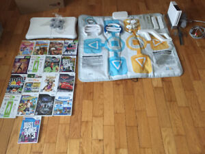 Full Wii System with Rare Jumping Pad, $200.00 OBO.