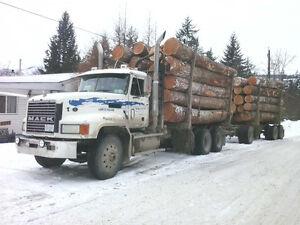 Logging truck for sale