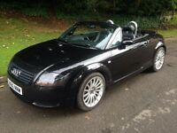 AUDI TT QUATTRO 1.8 CONVERTIBLE 180 BHP FULL SERVICE HISTORY ONLY 90k