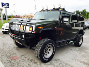 2004 HUMMER H2 LIFTED 4X4,LEATHER,SUNROOF,NAVI,LOADED, MUST SEE!