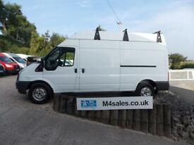 Ford Transit 350 LWB, High Roof Panel Van 2.4 Manual Diesel