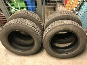 4 Goodyear Nordic Winter Tires 225/60R17