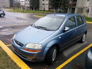 Chevrolet Aveo en bon etat