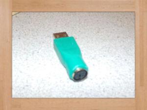 Adaptateur PS2 vers USB/Pour personne seul/Livraison gratuite