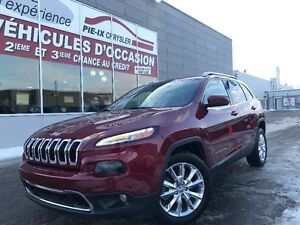 Jeep Cherokee  Limited+CUIR+MAGS+NAV+WOW! 2015