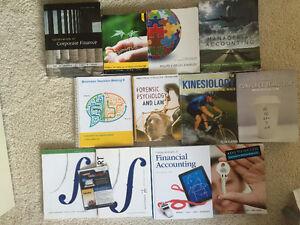 U of S Textbooks (Comm, Psych, Math, RLST, Phil)