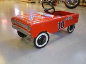 The Original General Lee. 60's peddle car