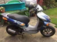 Honda. 49cc twist and go motorcycle
