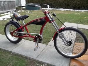vélo chopper harley