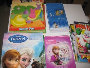 Micellaneous Colouring Books, Crayons, Markers, etc