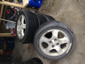 P205/50R15 Tire with Rims