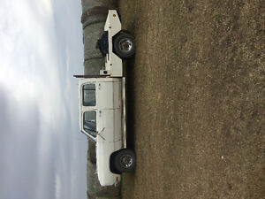 1982 dodge crewcab 3500 short box with deck