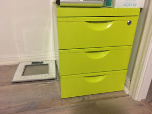 Like New Filing Cabinet (lime green)