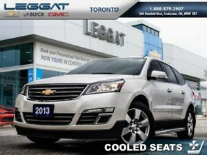 2013 Chevrolet Traverse LTZ  - Leather Seats -  Cooled Seats