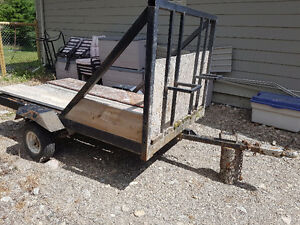 2 place dirt bike trailer