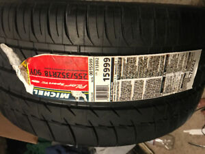 2 Single tires (Michelin and Continental)