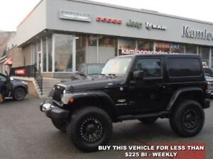 2014 Jeep Wrangler Sahara  -  A/C - Low Mileage