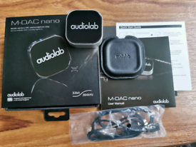Audiolab m dac nano blutooth wirelss headphone amp dac