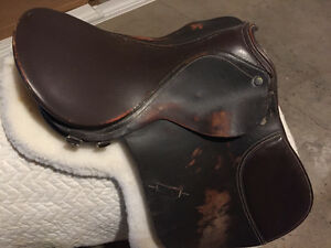 16 English saddle