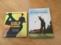 Golf books for sale!
