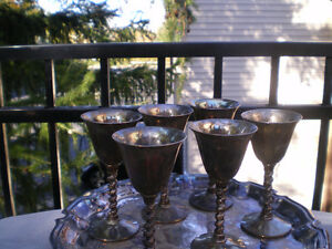 1950's Antique Sherry goblets Kitchener / Waterloo Kitchener Area image 4