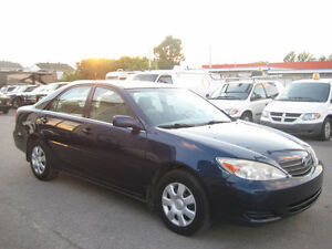 Toyota Camry 2003,Automatique,4 Cylindres, Air Climatise 2995$