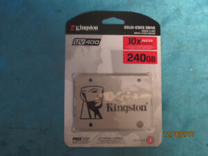 NEW Kingston 240 GB SSD hard drive