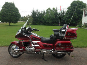 Honda Gold Wing 50th Anniversary Addition 1999 Mint Condition