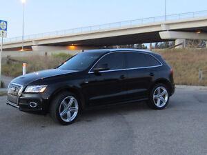 Nice Black on Black - 2011 Audi Q5 2.0T S Line