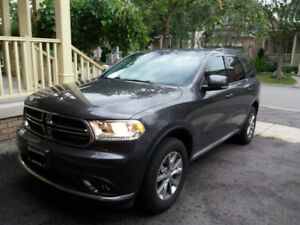 2015 Dodge Durango Ltd 3.6L, w/ low 21,000 km, under warranty