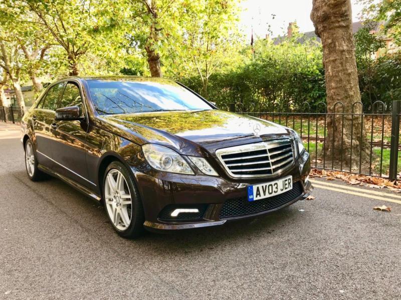 Mercedes-Benz E350 3 0CDI ( 231bhp ) Automatic sport low 58k mileage  mercedes | in Ilford, London | Gumtree