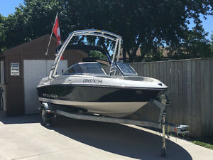 2013 Bayliner 175 with wake tower